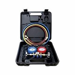 Comprar Kit Manifold 1/4 Pol e 5/16 Pol com Maleta, Mangueira 90 CM - R410A-Suryha