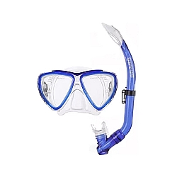 Comprar Kit Mergulho Duplo Cetus Bari Infantil Azul-Cressi Sub