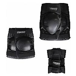 Comprar Kit Proteção contendo Par de Joelheiras, Munhequeiras  e Cotoveleiras - Mega Ramp-Bel Fix