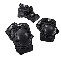 Comprar Kit Proteção contendo par de joelheiras, protetores de punho e cotoveleiras - Mormaii-Bel Fix