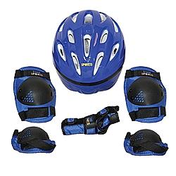 Comprar Kit Proteção PRO Capacete 7 Peças Azul Tamanho G-Bel Fix