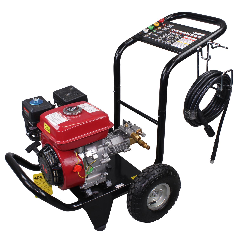 eaed4827b5a AgrotamA -Lavadora de Alta Pressão a Gasolina Partida Manual 2900 LBS Axial  Motor 7 HP 168F - NLG180