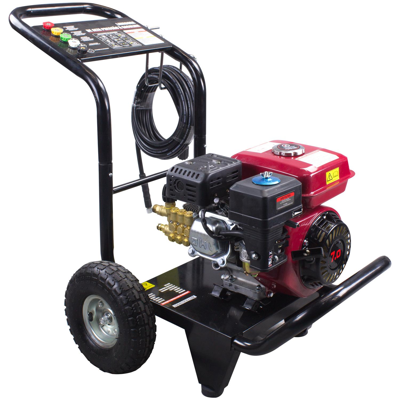 5d5ed5c35a4 AgrotamA -Lavadora de Alta Pressão a Gasolina Partida Manual 3000 LBS  Triplex Motor 7 HP - NLG200
