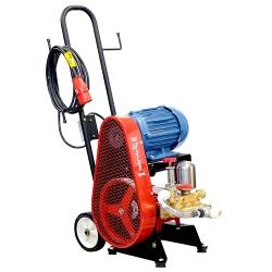 Comprar Lavadora de alta pressão elétrica monofásica com carrinho 3HP 400 libras mangueira preta 3/8 - LJ3100-Chiaperini