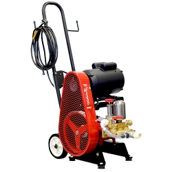 Comprar Lavadora de m�dia press�o m�vel trif�sica 2 hp mangueira de 1/2 com carrinho - LJ3000-Chiaperini