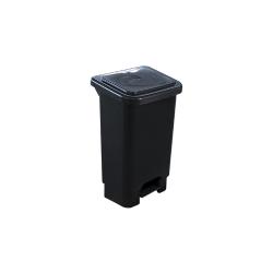 Comprar Lixeira com pedal e suporte para saco de lixo - LAR 50L-Lar Plásticos