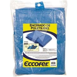 Comprar Lona de polietileno azul 2x2 metros-Eccofer