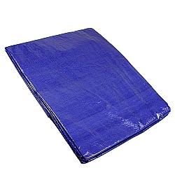 Comprar Lona de Polietileno 4x4M, Acabamento em PVC, Azul-Lee Tools