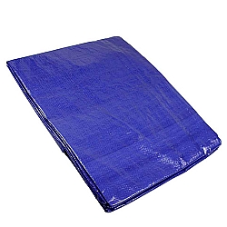 Comprar Lona de Polietileno 7x4M, Acabamento em PVC, Azul-Lee Tools