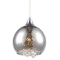 Comprar Lustre Vitta 1 Lâmpada Produzido em Aço e Acabamento em Vidro-Taschibra