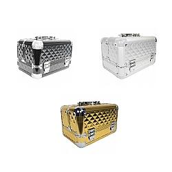 Comprar Maleta Organizadora Para Maquiagem Alumínio 6 Bandejas - THMM19-Tander Home
