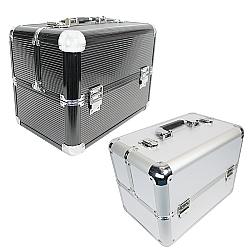 Comprar Maleta Organizadora Para Maquiagem Alumínio 6 Bandejas - THMM28-Tander Home