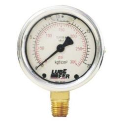 Comprar Manômetro com glicerina 4000 lbs/60 mm-Lufkin