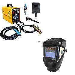 Comprar M�quina de Corte Plasma Inversora 40 amp�res + M�scara de solda com escurecimento autom�tico-Nagano Profissional