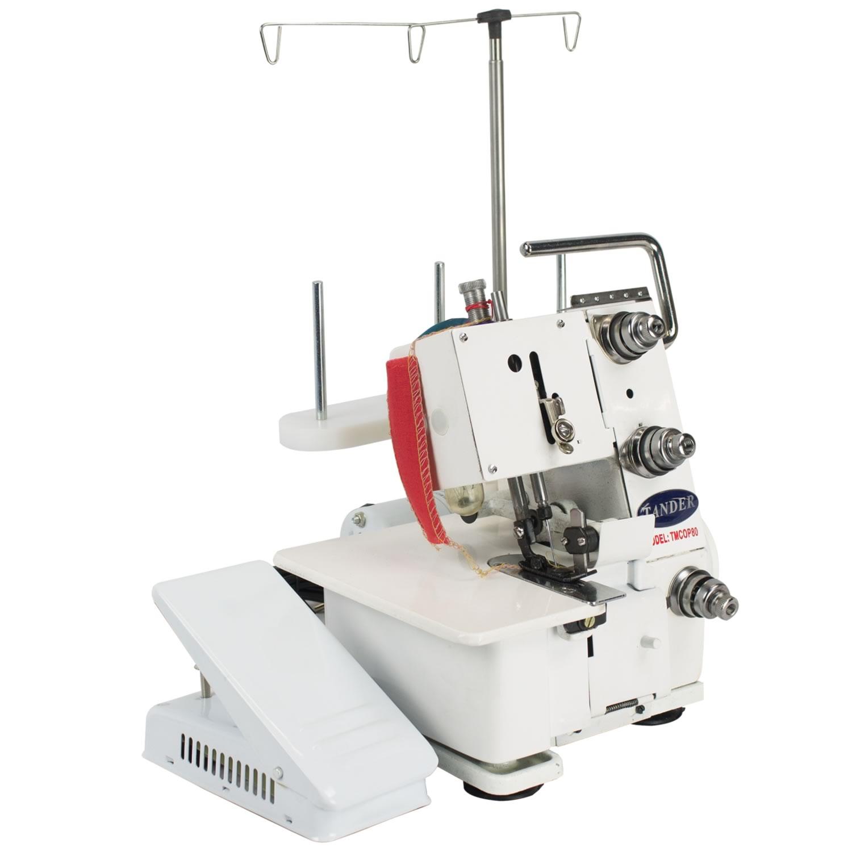 Maquina de Costura Overlock Portatil 80w 60hz - TMCOP80 - 110 V - Tander