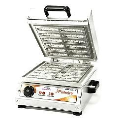 Comprar Máquina de Crepe Suíço 12 Cavidades 2000W-Pinheiro Máquinas