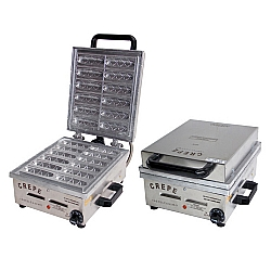 Comprar Máquina de Crepe Suíço no Palito com 12 Cavidades em Alumínio-Ademaq
