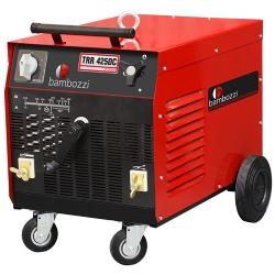Comprar Máquina de solda/retificador 425 ampéres Trifásico - TRR425DC-Bambozzi