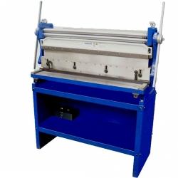 Comprar Máquina universal para trabalhar chapas até 1016 mm (Calandra / Guilhotina / Viradeira) - MR3000-Manrod