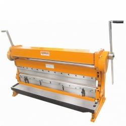 Comprar Máquina universal para trabalhar chapas até 1320 mm (Calandra / Guilhotina / Viradeira) - MR-578-Manrod