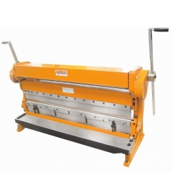 Comprar M�quina universal para trabalhar chapas at� 1320 mm (Calandra / Guilhotina / Viradeira) - MR-578-Manrod