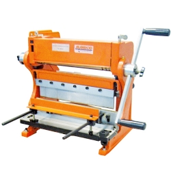 Comprar Máquina universal para trabalhar chapas até 305 mm (Calandra / Guilhotina / Viradeira) - MR-571-Manrod