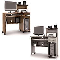 Comprar Mesa Computador Office Studio, Espaço para Monitor até 580 mm-Lukaliam