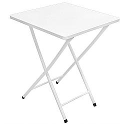 Comprar Mesa de A�o Quadrada Branco-Metalmix