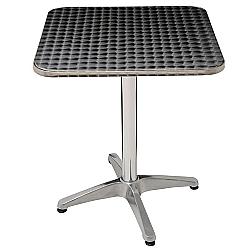 Comprar Mesa de Alumínio Quadrada 60cm - 9112-MOR