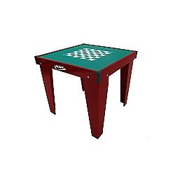 Comprar Mesa de Domin� e Xadrez, Verniz, 84x84cm-Klopf