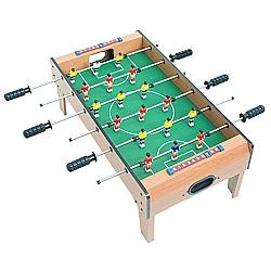 Comprar Mesa de Pebolim Portátil com Haste de Jogadores em Ferro com Pontas Emborrachadas-Bel Fix