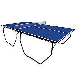Comprar T�nis de Mesa, Ping-Pong, MDP 15 mm, Bordas e p�s em tubo de a�o, P�s com rod�zios - 1007K-Klopf