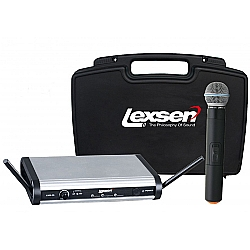 Comprar Microfone de Mão sem Fio Bivolt - LWM-58-Lexsen