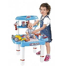 Comprar Minha Mesa Bancada de M�dico Maleta com Kit Infantil - 489300-Bel Fix