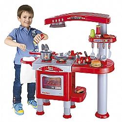 Comprar Minha Super Cozinha Infantil com Fogão Forno Panela - 489800-Bel Fix
