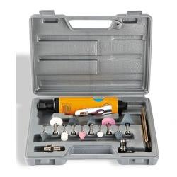 Comprar Mini retificadeira pneumática 1/4'' 15.000 rpm com maleta e acessórios - CH R-15K-Chiaperini