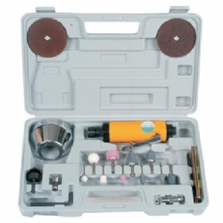 Comprar Mini retificadeira pneumática 1/4 20000 rpm com maleta e acessórios - CH R-12K-Chiaperini