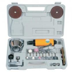Comprar Mini retificadeira pneum�tica 1/4 20000 rpm com maleta e acess�rios - CH R-12K-Chiaperini