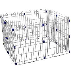 Comprar Mini Canil Portátil - Para Cães - Pintura Epóxi Branca - PC002-Bragança