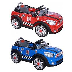 Comprar Mini Carro El�trico para Crian�as, Cooper Convers�vel Com Controle Remoto, 3 km/h, Bateria 6V 10 Ah-Bel Fix