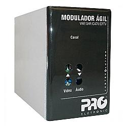 Comprar Modulador ágil VHF/UHF/CATV/CFTV Impedância de 75 Ohms-Proeletronic