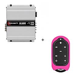 Comprar M�dulo Amplificador HD 800, 800W RMS, 1 Canal, 2 OHMS + Controle Longa Dist�ncia Rosa - TLC 3000 Colors-Taramp�s