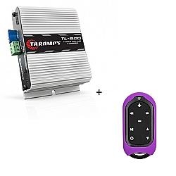 Comprar Modulo Amplificador Stereo 2 canais 170 rms TL 600 + Controle Longa Distância Violeta - TLC 3000 COLORS-Taramp´s