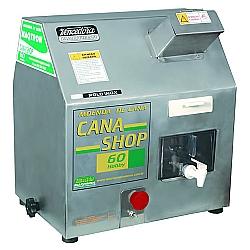 Comprar Moenda de Cana Shop 60 3 Rolos e Eixos de Inox com Chave de Reversão Motor 1/2 cv Monofásico-Maqtron