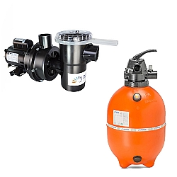 Comprar Motobomba Centrifuga NBF-2 / M 1/2 CV 127 / 220VAC 60HZ - Com Capacitor - Nautilus + Filtro para Piscina, 30.000 a 52.000 L - F450P-Nautilus