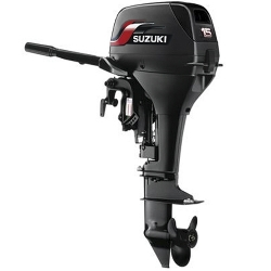 Comprar Motor de popa suzuki a Gasolina 15hp partida manual - DT15S-Suzuki