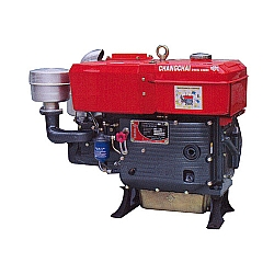 Comprar Motor Estacionário L24 a Diesel, 22Hp,1246cc - Hopper-Changchai