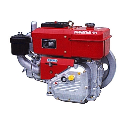 Comprar Motor Estacionário a Diesel, 10,5hp, 373 cc, Hopper, Refrigerado a Água-Changchai