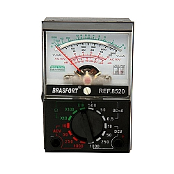 Comprar Multímetro Analógico, Mod 1000A-Brasfort