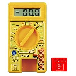 Comprar Mult�metro Digital com Teste de rede e telefonia - HY7300-Lee Tools